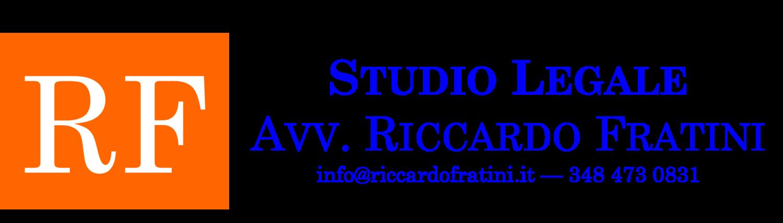 Avv. Riccardo Fratini